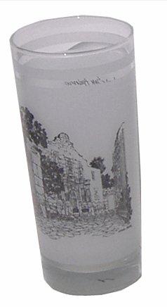 Commemorative Alamo Glass