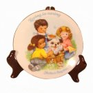 Loving is Caring Mother's Day Plate