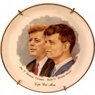 John F. and Robert F. Kennedy Plate