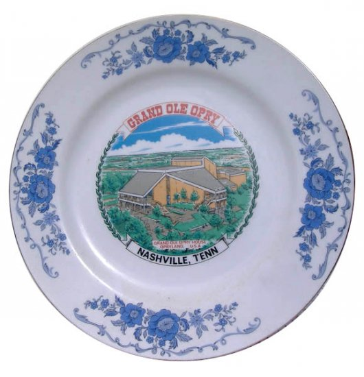 Grand Ole Opry Plate