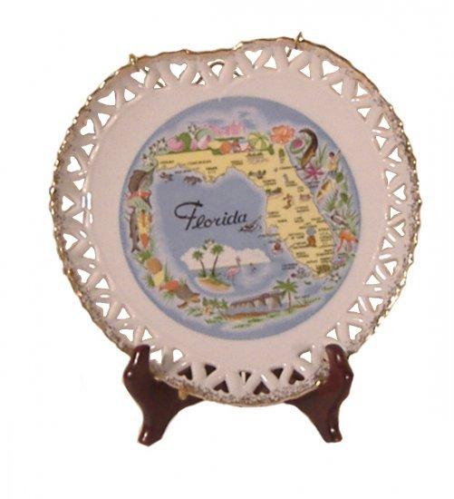 Florida Souvenir Plate