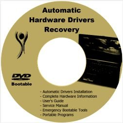 HP Pavilion dv3000 Drivers Restore Recovery PC CD/DVD
