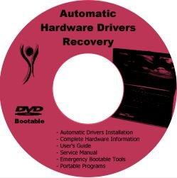 HP Pavilion HDX9000 PC Drivers Restore Recovery CD/DVD