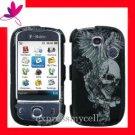 Hard Case Cover T-MOBILE HUAWEI U7519 TAP VINTAGE SKULL