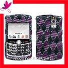 Case Cover Blackberry Curve 8300 8310 8320 8330 ~ SPARKLE ARGYLE