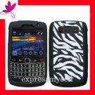 Soft Gel Case Cover Blackberry Bold 2 Onyx 9700 Zebra