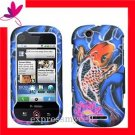 New Hard Case Cover for Motorola CLIQ MB200 KOI FISH