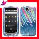 Hard Case Cover HTC GOOGLE NEXUS ONE 1  - CARBON STAR