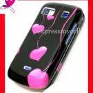 Hard Case Cover Skin for LG XENON GR500 GR-500  ~ HOT PINK LOVE DROPS