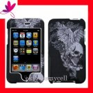 Hard Case Hard Cover Case for APPLE ipod touch 2nd 3rd Generation ~ VINTAGE SKULL