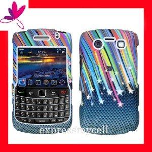 Case Cover for Blackberry Bold  9700 9780  Rainbow Star