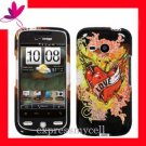 Hard Case Cover Skin HTC Droid Eris 6200 LOVE TATTOO