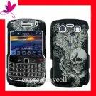 Hard Case Cover Skin Blackberry Bold  9700 9780  Skull