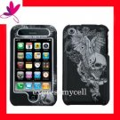 Hard Case Cover Apple iPhone 3G S 3GS  ~  VINTAGE SKULL