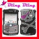 Bling Case Cover Blackberry Curve 8300 8310 8320 8330 SKULL