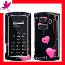 New BLING BLING Case Cover for SANYO INCOGNITO 6760  ~ HOT PINK LOVE DROPS