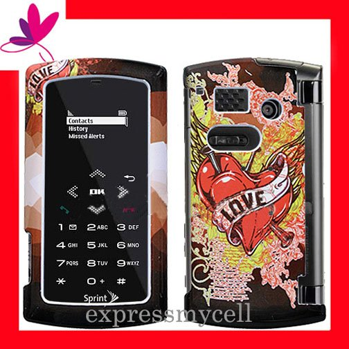 New BLING BLING Case Cover for SANYO INCOGNITO 6760  ~ LOVE  TATOO