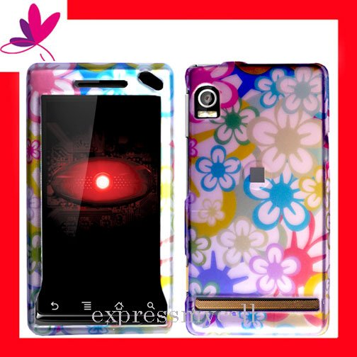 NEW Hard Case Cover for MOTOROLA DROID A855 ~ 2D COLOR MOM