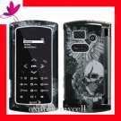 New Hard Case Cover for SANYO INCOGNITO 6760  ~ VINTAGE WING SKULL