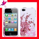 new Premium Hard CASE COVER for APPLE iphone 4 4th Generation 4GS ~ SPRING BLOSSOM
