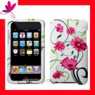 NEW PREMIUM HARD CASE for APPLE IPOD TOUCH 2ND 3RD GENERATION ~ LOVELY PINK FLOWER