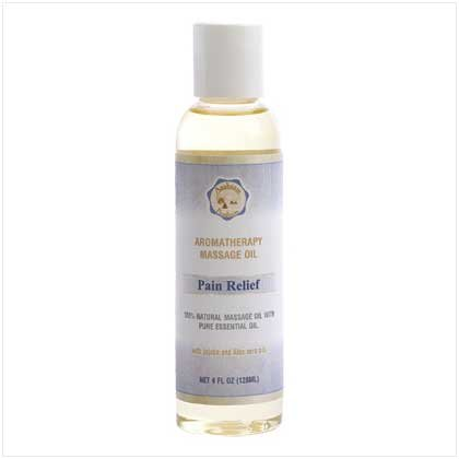'pain Relief' Massage Oil