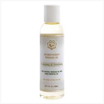 'calming/soothing' Massage Oil