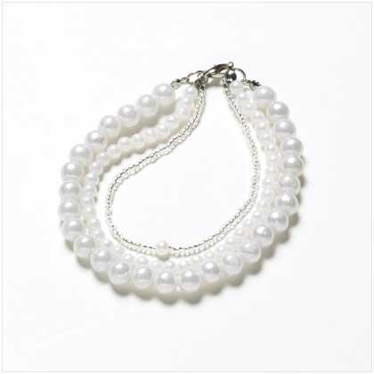 3 Strands Pearl Bracelet