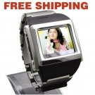 1.5 inch TFT Touchscreen Metal Watch Cell Phone Tri Band Wide Screen W600