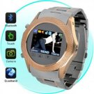 Quad-band stainless steel watch mobile phone W960