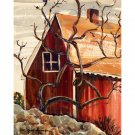 """Twisted Tree (14.5"""" H x 11.5"""" W, Near-Standard; Giclee Print of Watercolor Painting)"""