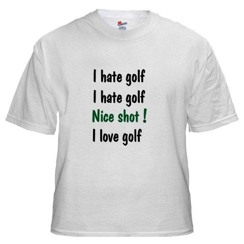 I Hate Golf, I Hate Golf....