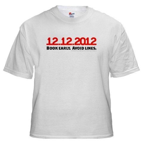 """""""12.21.12 Book Early Avoid Lines """""""