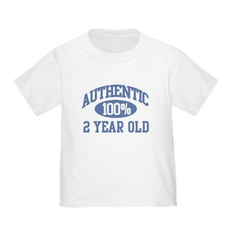 Authentic 100% 2 Year Old