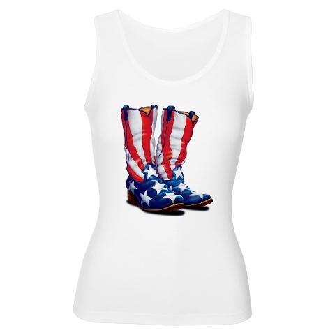 American Flag Cowboy Boots