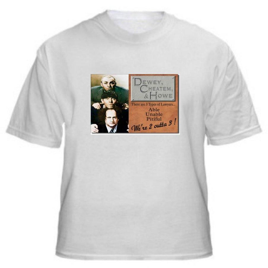 The Three Stooges - Dewey, Cheatum & Howe