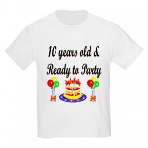 10 Years Old & Ready To Party