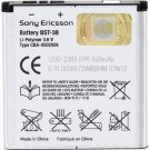 BST-38 Cell Phone Battery - Proprietary - Lithium Polymer (Li-Polymer)