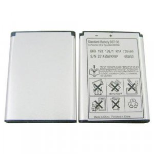 BST-36 Battery for Sony Ericsson K510i T280i W200i Z310i Z550i Z558i