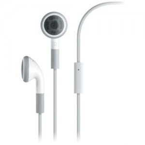 Stereo Headset /w Microphone for Apple iPhone 3G (White) FREE SHIPPING!