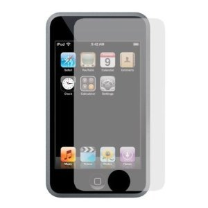 5-Pack Premium Reusable LCD Screen Protector with Lint Cleaning Cloth for Apple iPhone 3G 8GB 16GB