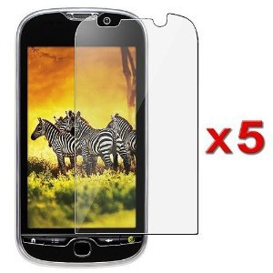 5x HTC T-Mobile myTouch 4G HD Premium Clear LCD Screen Protector Cover