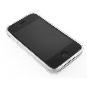 Clear Transparent Bumper Crystal Soft Gel TPU Skin Case Cover for Apple iPhone 4 4G 16GB 32GB