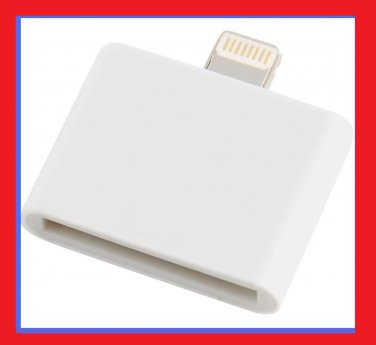 FREE S/H! 30-pin to 8-pin Lightning Adapter Converter for Apple iPhone 5 5S 5C 6 plus