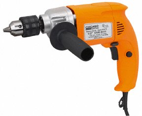 1/2'' HEAVY DUTY VARIABLE SPEED REVERSIBLE DRILL
