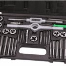 40 PC. SAE CARBON STEEL TAP & DIE SET