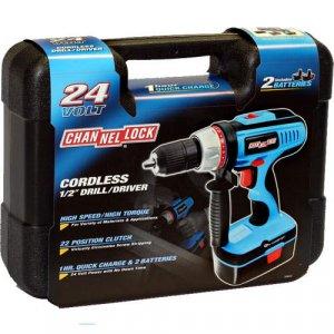 Channellock 24 Volt Cordless 1/2 in. Drill/Driver