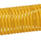 "Coiled Air Hose 1/4"" x 20 Ft. Yellow"