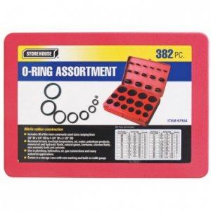 O-Ring Assortment 382 Piece