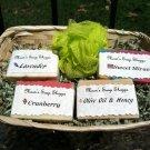 4 soap gift basket